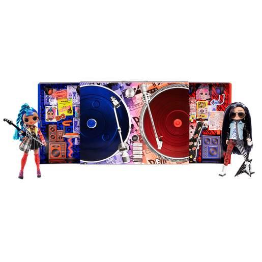 L.O.L Surprise! Outrageous Millennial Girls Remix 2 Pack - Punk Grrrl and Rocker Bot Dolls