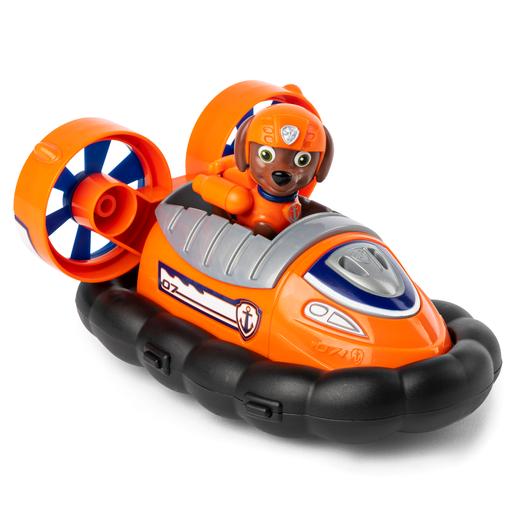 Paw Patrol Figure and Vehicle - Zuma and Hovercraft