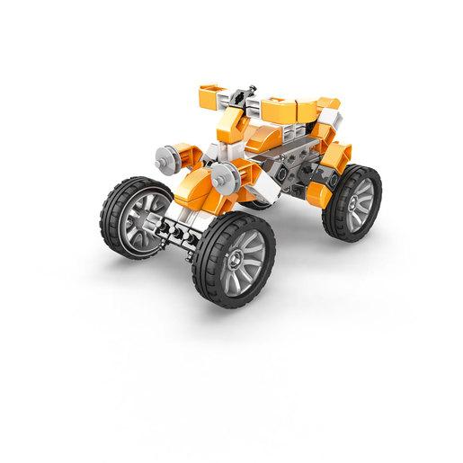 Engino Inventor Mechanics Quad Bike (5 Bonus Models)