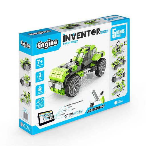 Engino Inventor Mechanics Beach Buggy (5 Bonus Models)