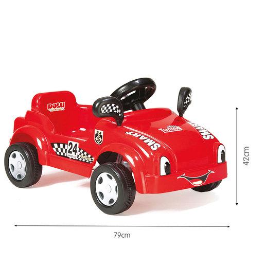 Dolu Pedal Racer Smart Car - Red