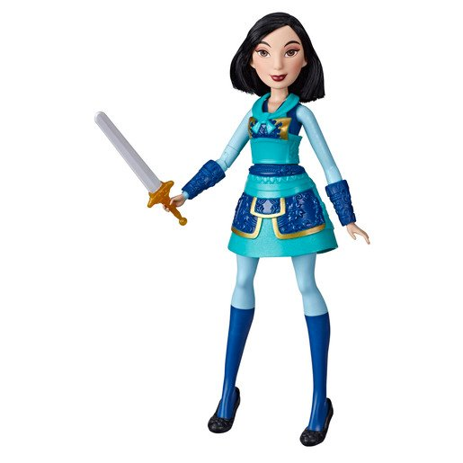 Disney Princess Warrior - Mulan Doll with Sword