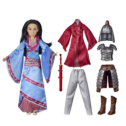 Disney Princess Warrior -  Mulan Fashion Doll Set