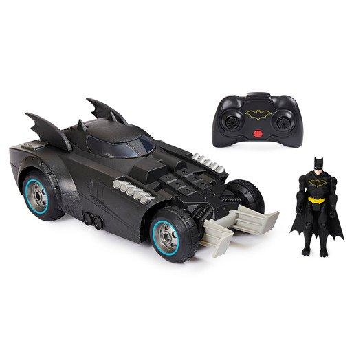 DC Batman Launch and Defend Batmobile
