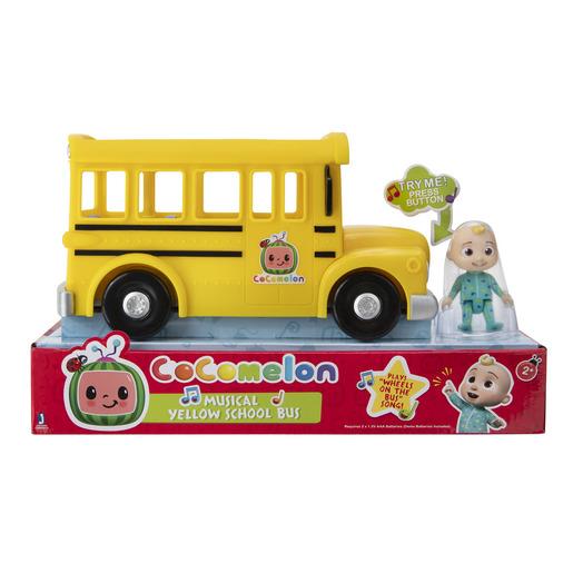 CoComelon Musical Yellow School Bus