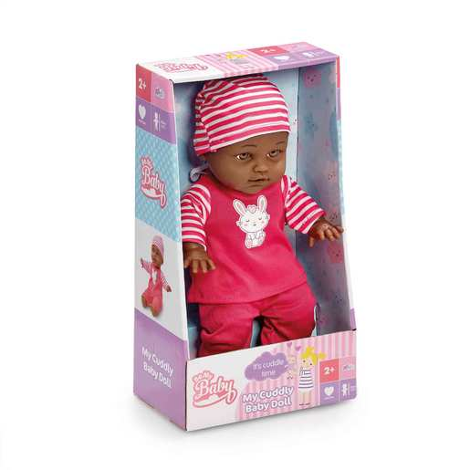 Be My Baby Cuddly Baby - Dark Pink Outfit