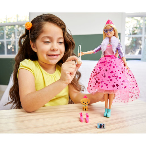 Barbie Princess Adventure Doll - Blonde Hair