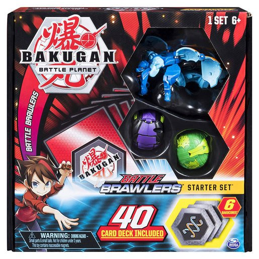 Bakugan Battle Brawlers Starter Set (Styles Vary)