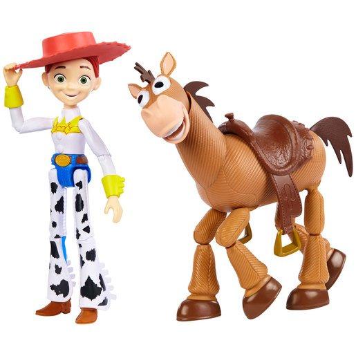 Disney Pixar Toy Story Jessie and Bullseye Figures