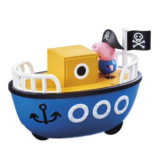 Peppa Pig Grandpa Pig's Boat With George