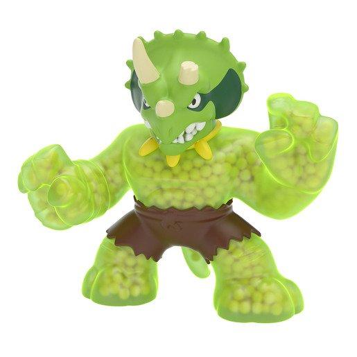 Heroes of Goo Jit Zu Dino Power Figure - Tri Tops The Triceratops