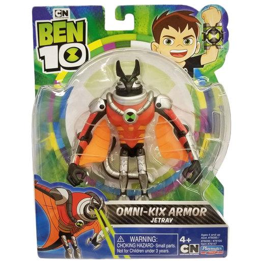 Ben 10 Action Figure Omni-Kix Armor - Jetray