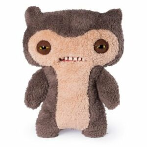 Fuggler 30cm Funny Ugly Monster - Scuffy Fox Monster Brown