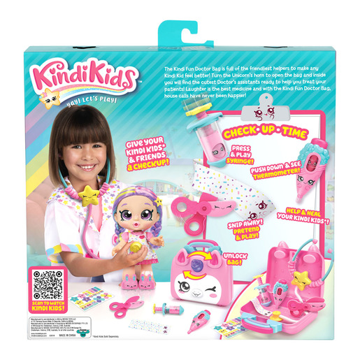 Kindi Kids Hospital Corner Doctors Bag Playset