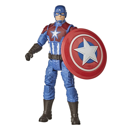 Marvel Gamerverse Captain America Shining Justice Figure