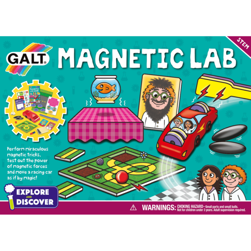 Galt Magnetic Lab Game