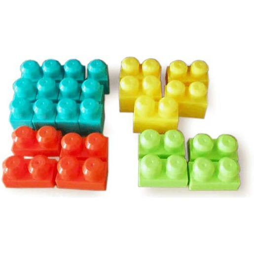 Build Me Up Blocks Wagon - 25 Pieces