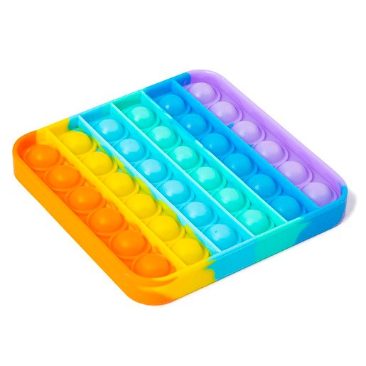 Bubble Fidget Rainbow Popping Game (Styles Vary)