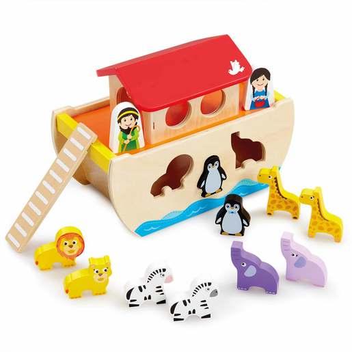 Woodlets Noah's Ark Shape Sorter