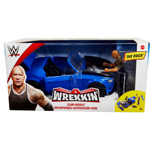 WWE Wrekkin Slam Mobile Vehicle