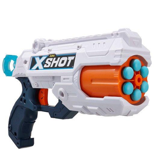 X-Shot Reflex 6 Foam Dart Blaster - 16 Darts by ZURU