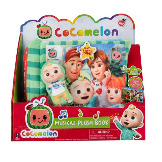 CoComelon Nursery Rhyme Plush Audiobook