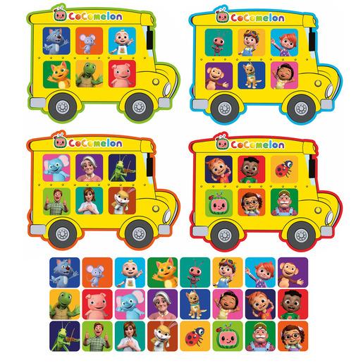 CoComelon School Bus Bingo Game