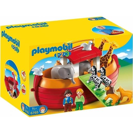 Playmobil 6765 1.2.3 Floating Take Along Noah's Ark