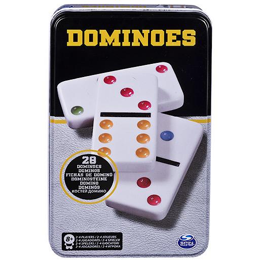 Dominoes in Tin Game