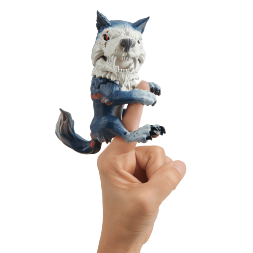 Untamed Dire Wolf by Fingerlings– Midnight (Black and Red)