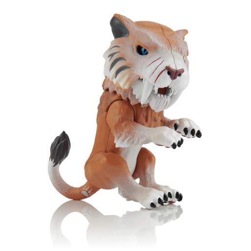 Untamed Sabre Tooth Tiger by Fingerlings - Bonesaw (Bronze)