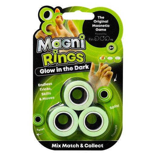 Glow In The Dark Magni Rings Fidget Toy