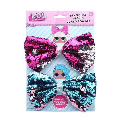 L.O.L Surprise! - Jumbo Sequin Bow 2 Pack