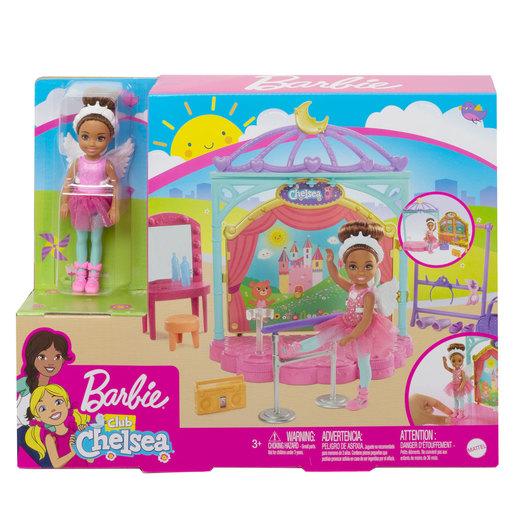 Barbie Chelsea Club Ballet Playset