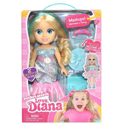 Love Diana - 33cm Doll Mashup Mermaid