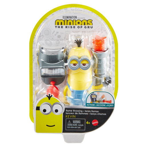 Minions: The Rise of Gru Button Activated Flame Throwing Kevin