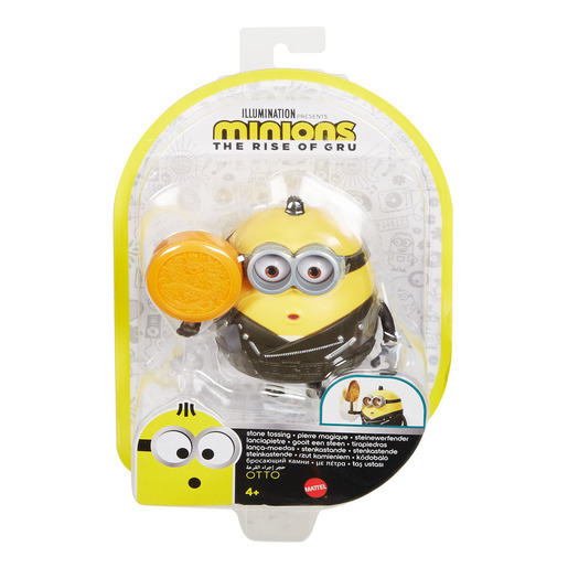 Minions: The Rise of Gru Button Activated Stone Tossing Otto