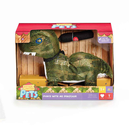 Pitter Patter Pets Dance With Me Dinosaur