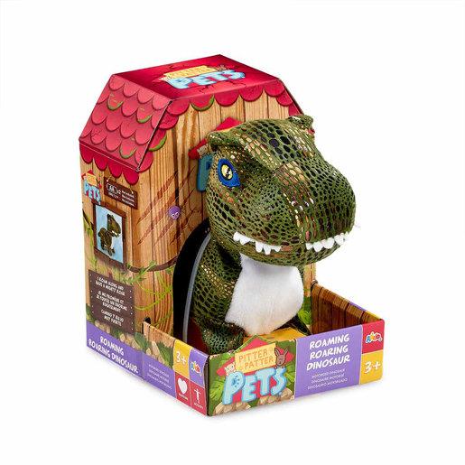 Pitter Patter Pets Roaming Roaring Dinosaur - Green T-Rex