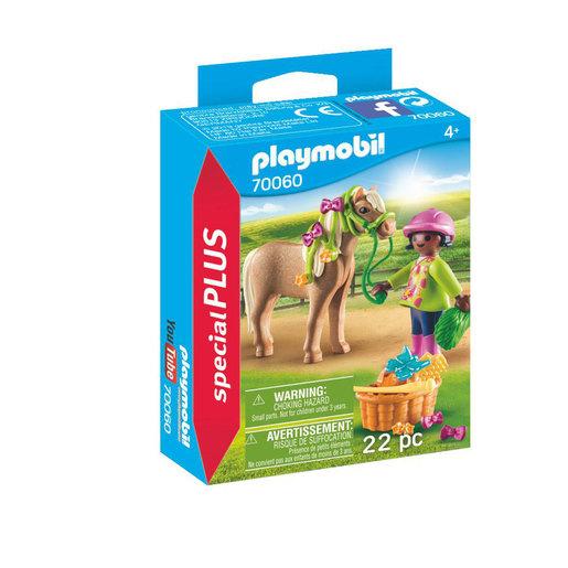 Playmobil 70060 Special Plus Girl with Pony