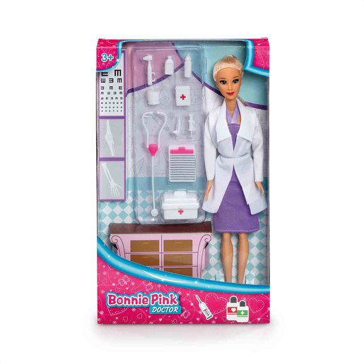 Bonnie Pink - Doctor Doll Playset
