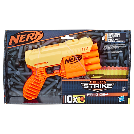 Nerf Alpha Strike Fang QS-4 Blaster