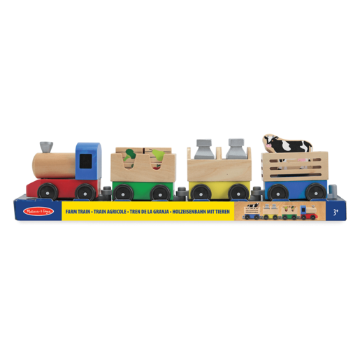 Melissa & Doug - Wooden Farm Train