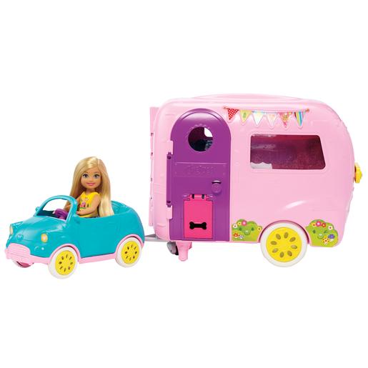 Barbie Club Chelsea Camper Playset & Accessories