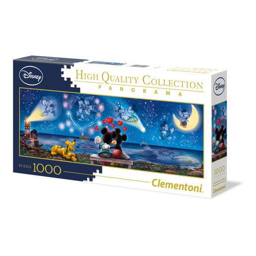 Clementoni - Mickey & Minnie Mouse 1000pc Panorama Puzzle