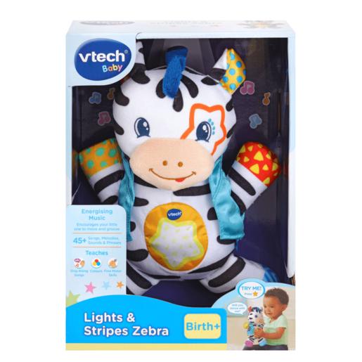 VTech Lights and Stripes Zebra