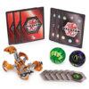 Bakugan Starter 3 Pack Action Figure - Aurelus Skorporos