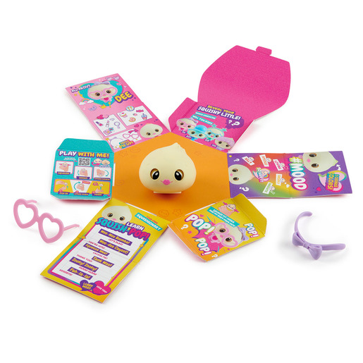My Squishy Little Dumplings Interactive Toy - Dee (Pink)