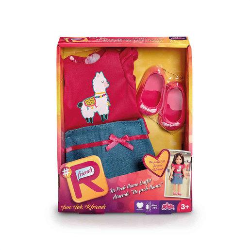 #Rfriends No Prob-Llama Top & Skirt - Pink