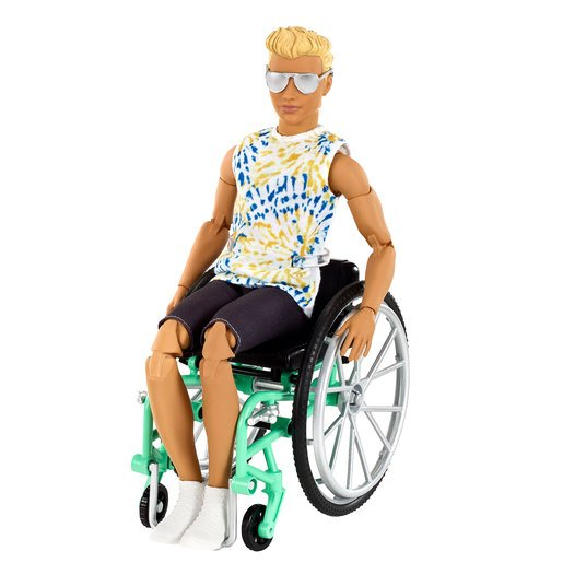 Barbie Doll and Wheelchair Accessory - Ken